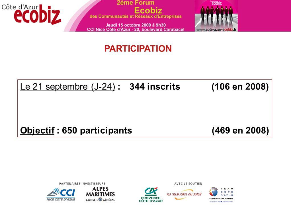 ANIMATION TERRITORIALE Le Programme INSCRIVEZ-VOUS !! www.cote-azur-ecobiz.fr
