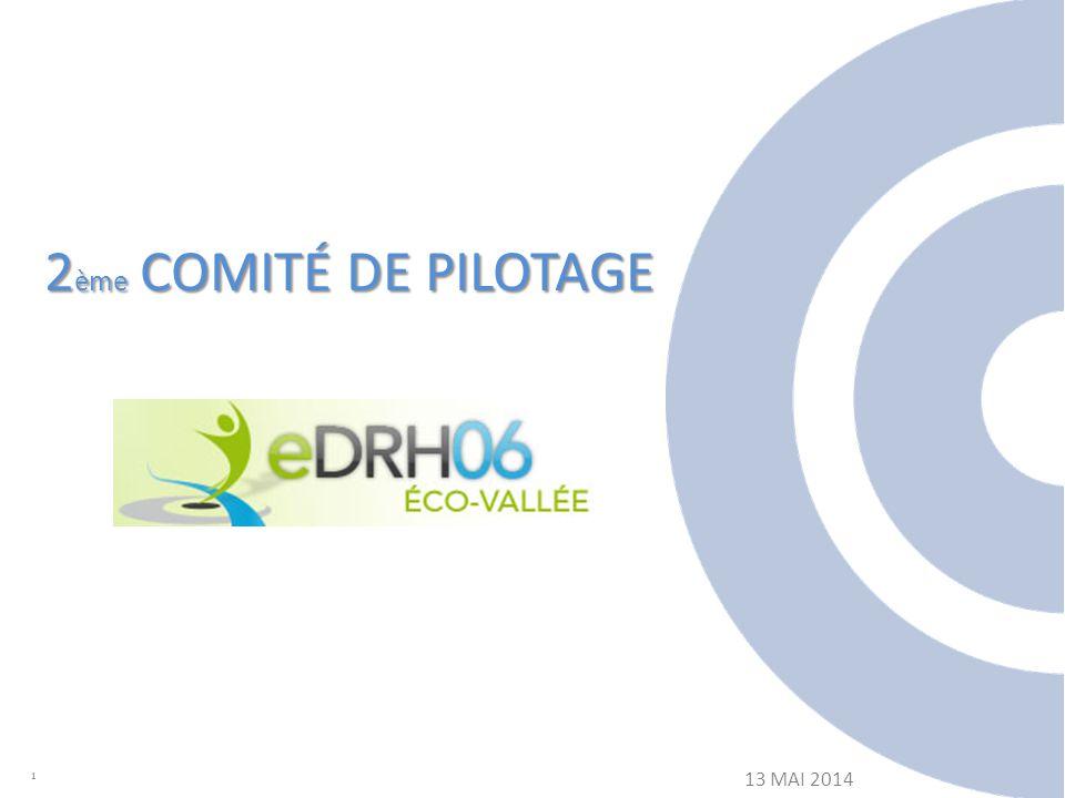 2 ème COMITÉ DE PILOTAGE 1 13 MAI 2014