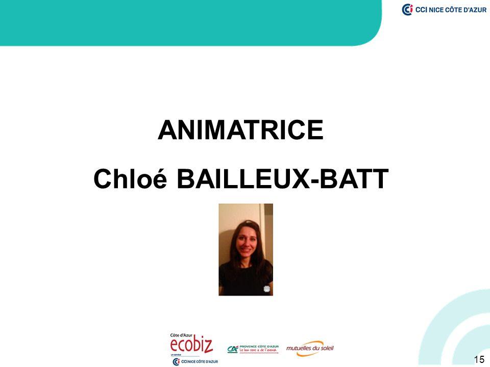 15 ANIMATRICE Chloé BAILLEUX-BATT