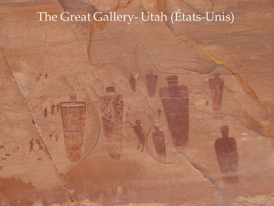 The Great Gallery- Utah (États-Unis)