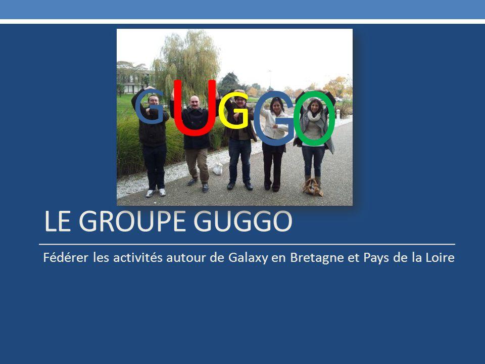 LE GROUPE GUGGO Fédérer les activités autour de Galaxy en Bretagne et Pays de la Loire G G G U O