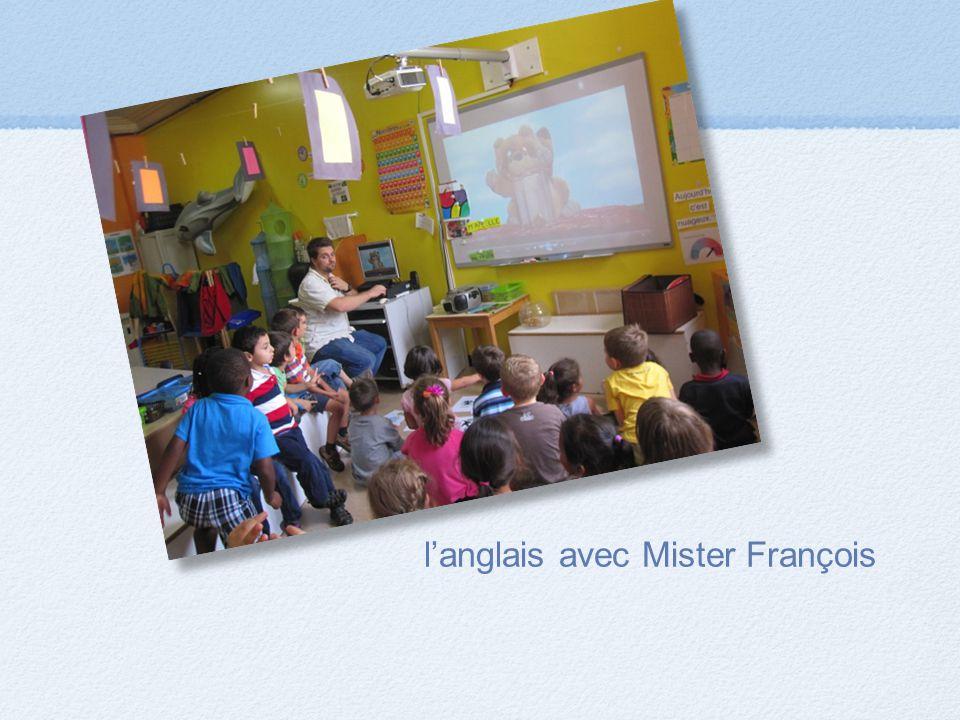 l'anglais avec Mister François