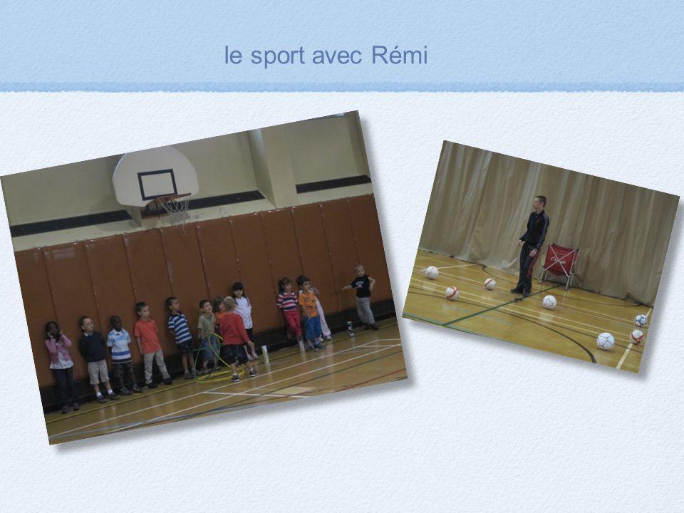 le sport avec Rémi