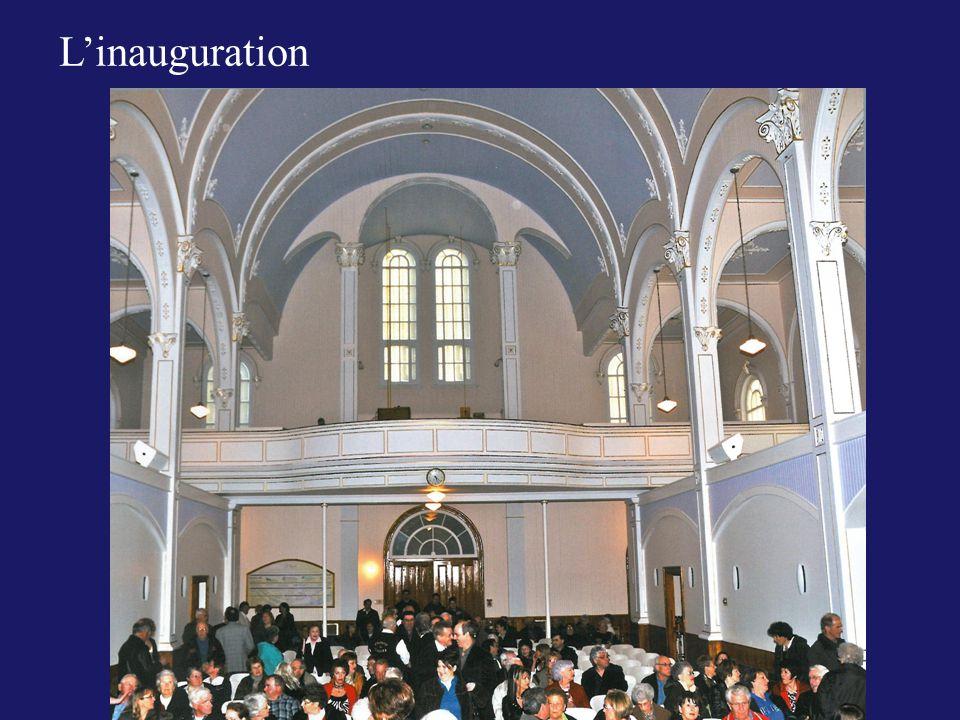 L'inauguration