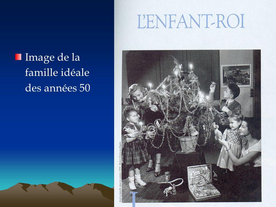 Image de la famille idéale des années 50