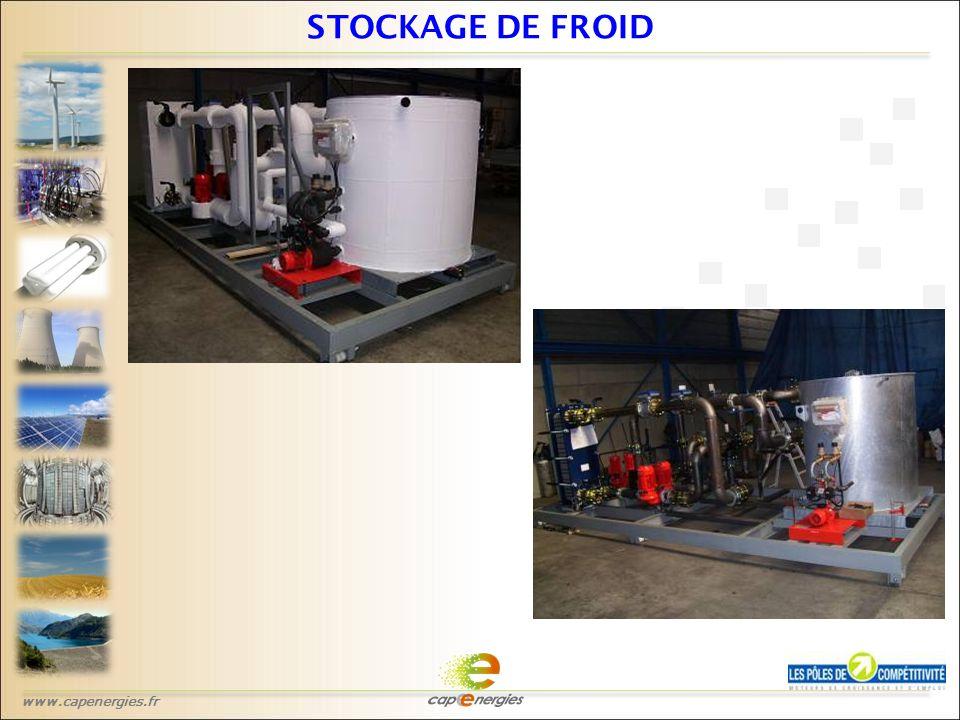 www.capenergies.fr STOCKAGE DE FROID