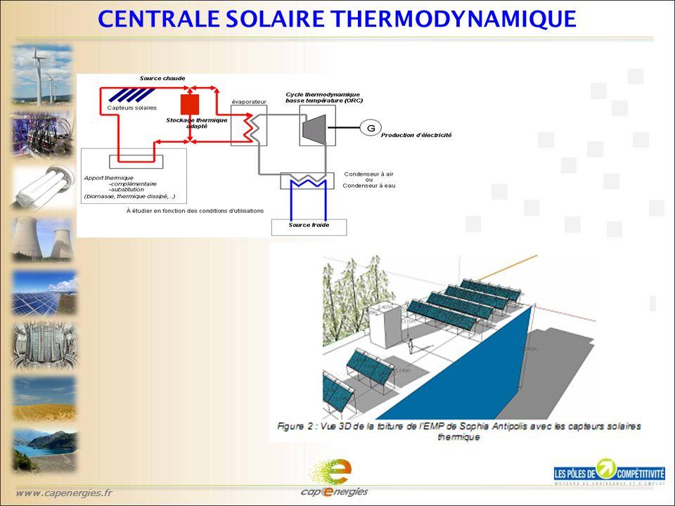 www.capenergies.fr CENTRALE SOLAIRE THERMODYNAMIQUE