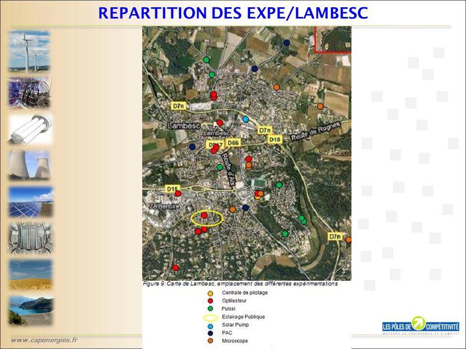 www.capenergies.fr REPARTITION DES EXPE/LAMBESC