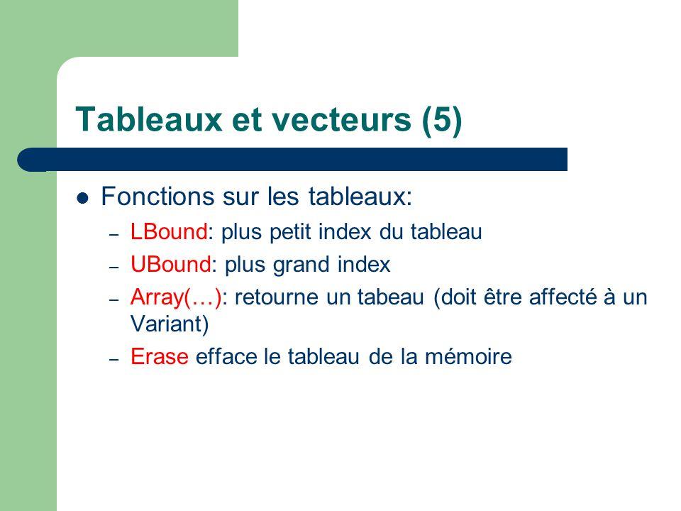 Application de la syntaxe de base dans Excel Voir exempleexemple
