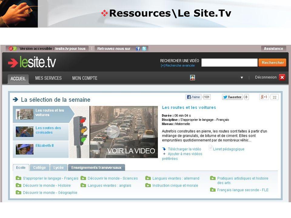  Ressources\Le Site.Tv