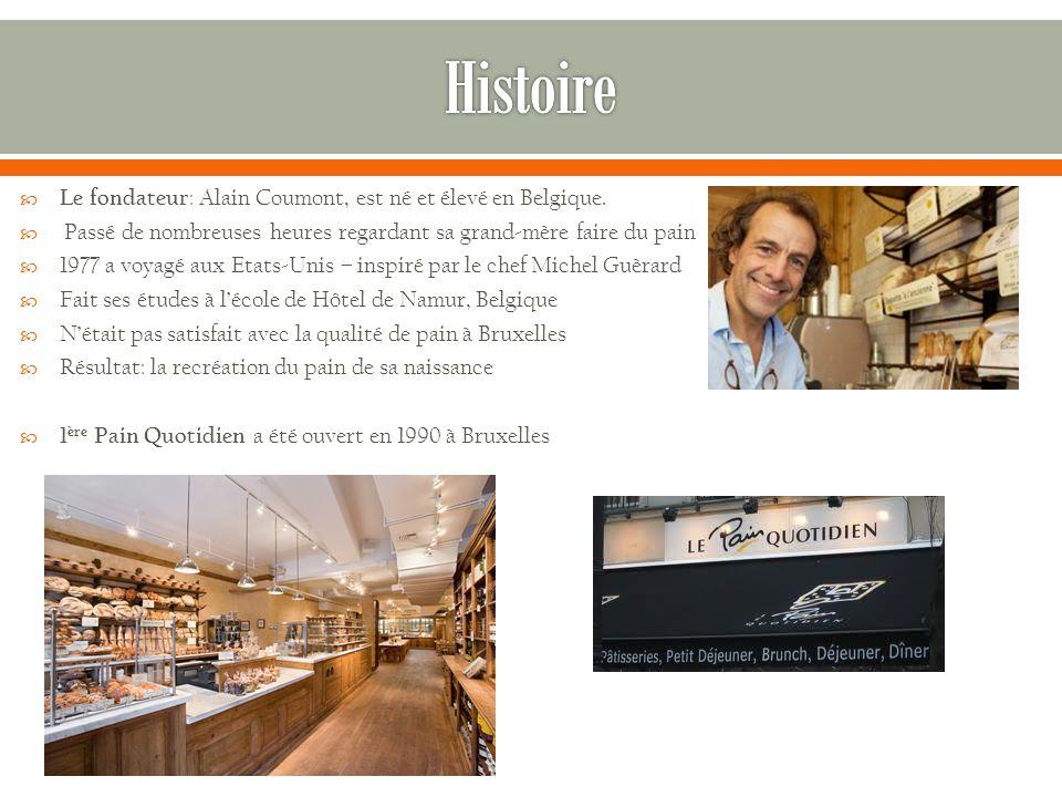  Le fondateur : Alain Coumont, est né et élevé en Belgique.