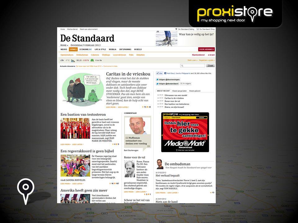 Proxistore se mobilise.Dès la rentrée 2012, Proxistore en version mobile.