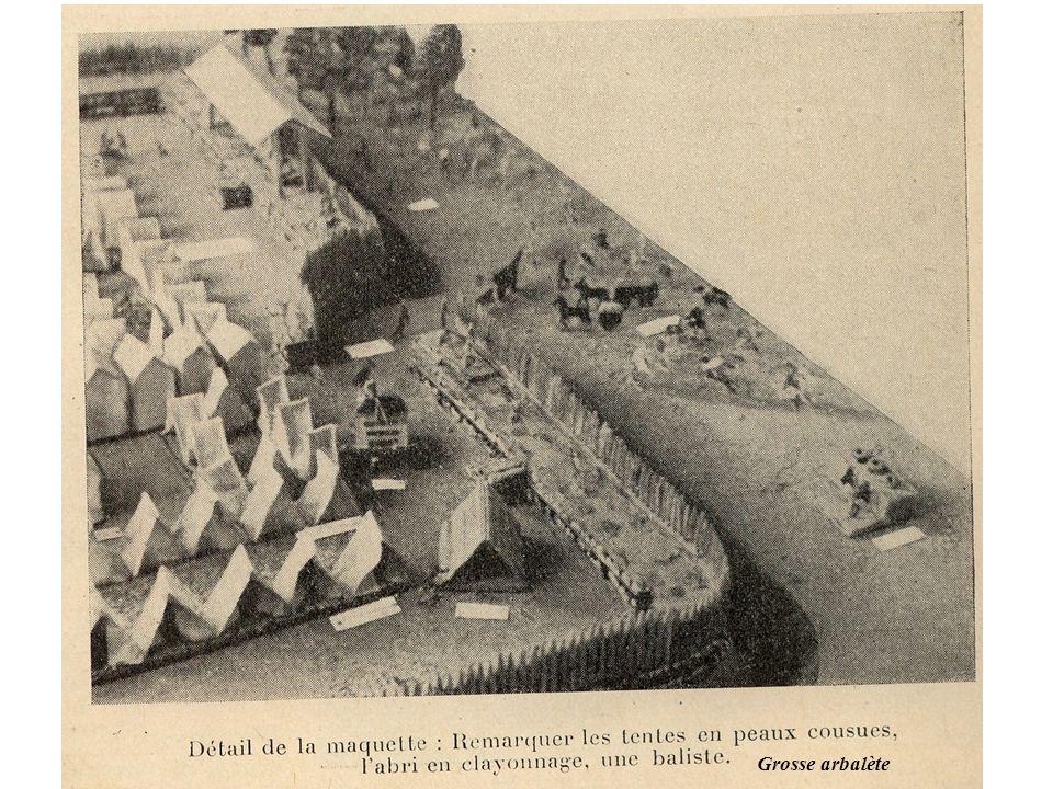 Ce camp est resté exposé dans un musée pédagogique de Paris pendant de longues années, après l'avoir été à l'Exposition internationale de Paris.