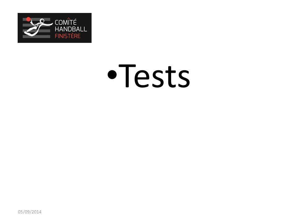 Tests 05/09/2014