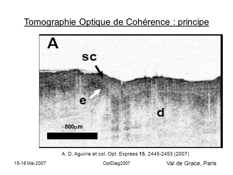 Val de Grace, Paris 15-16 Mai 2007OptDiag2007 Tomographie Optique de Cohérence : principe z S.L.S.