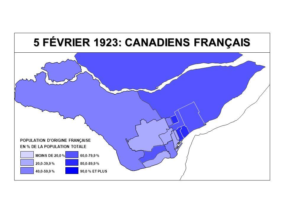 DÉPUTÉS ÉLUS AUTRES PARTI CONSERVATEUR PARTI LIBÉRAL 5 FÉVRIER 1923: DÉPUTÉS ÉLUS Québec Îles-de-la- Madeleine T.-R.