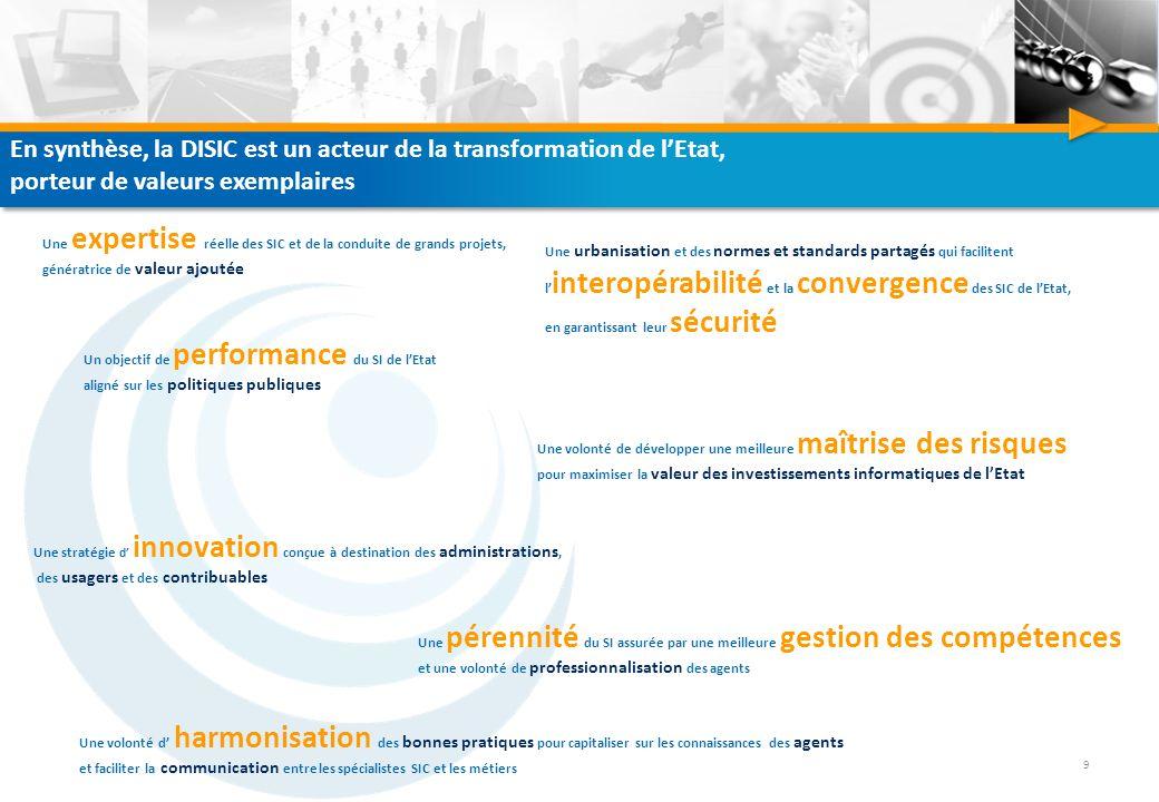 Direction interministérielle des systèmes d'information et de communication 32, rue de Babylone 75007 Paris www.disic.gouv.fr disic@pm.gouv.fr