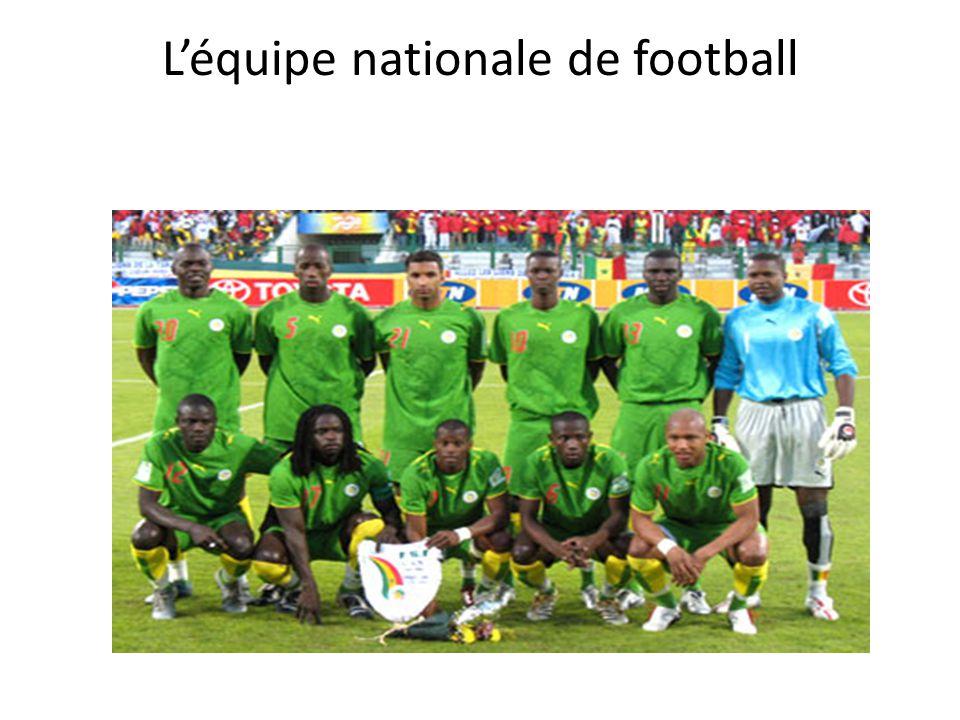 L'équipe nationale de football