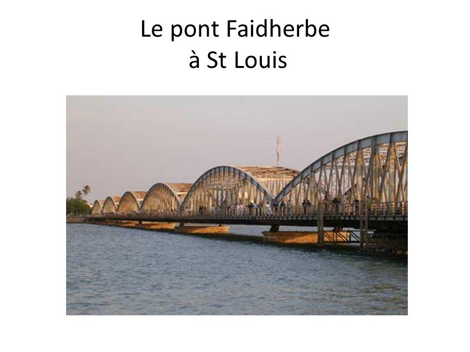 Le pont Faidherbe à St Louis