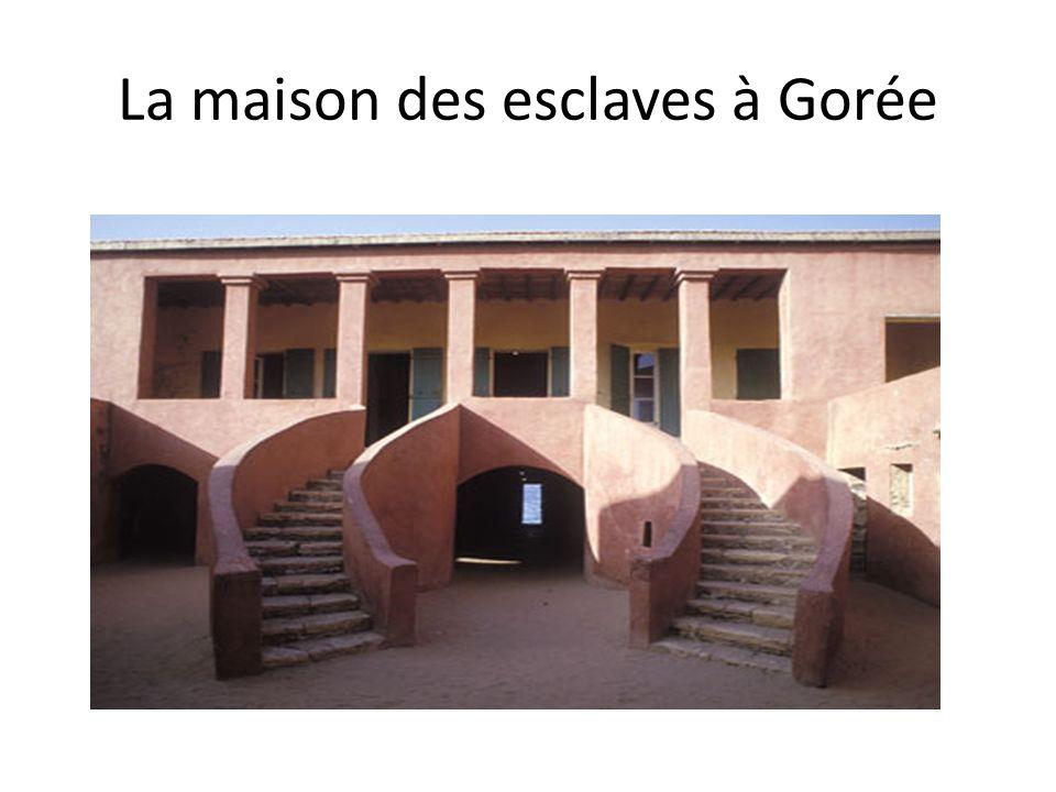 La maison des esclaves à Gorée