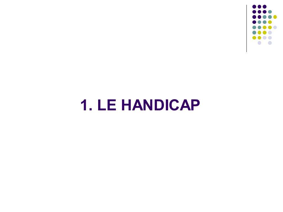 1. LE HANDICAP