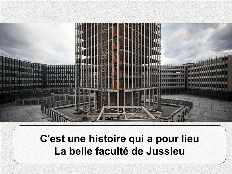 C est une histoire qui a pour lieu La belle faculté de Jussieu Photos Jussieu Photo de Clairette qui fait la moue