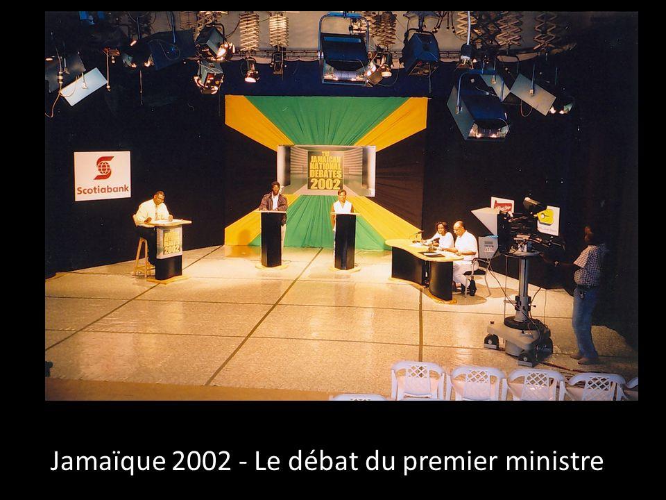 Jamaïque 2002 - Le débat du premier ministre