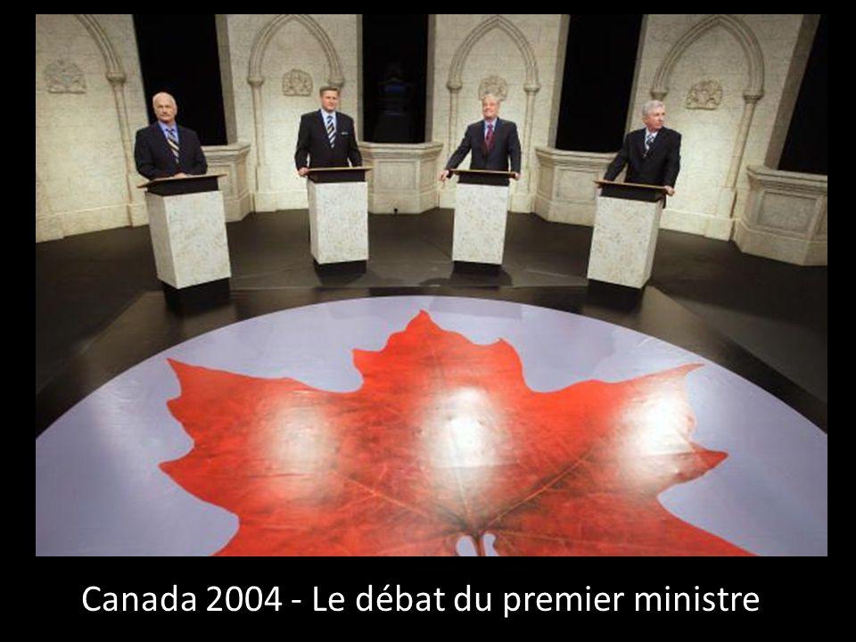 Canada 2004 - Le débat du premier ministre