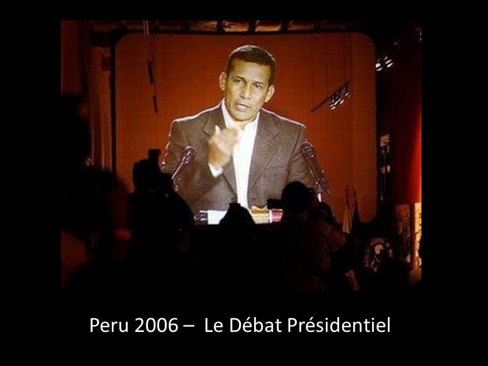Peru 2006 – Le Débat Présidentiel