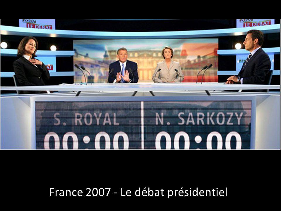 France 2007 - Le débat présidentiel
