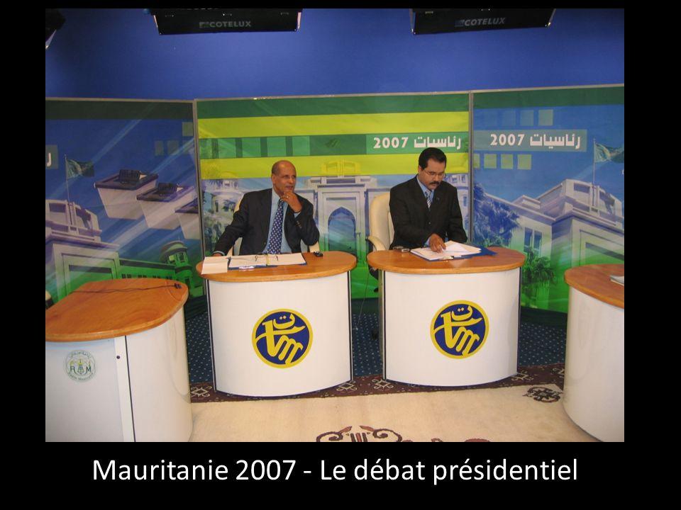 Mauritanie 2007 - Le débat présidentiel