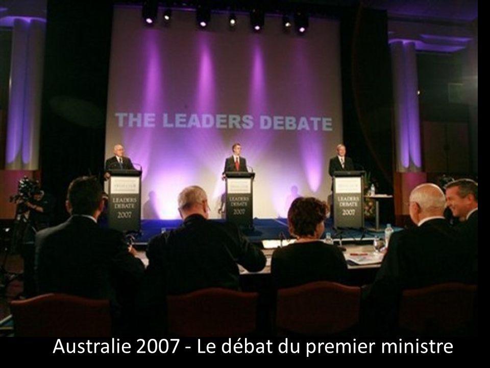 Australie 2007 - Le débat du premier ministre