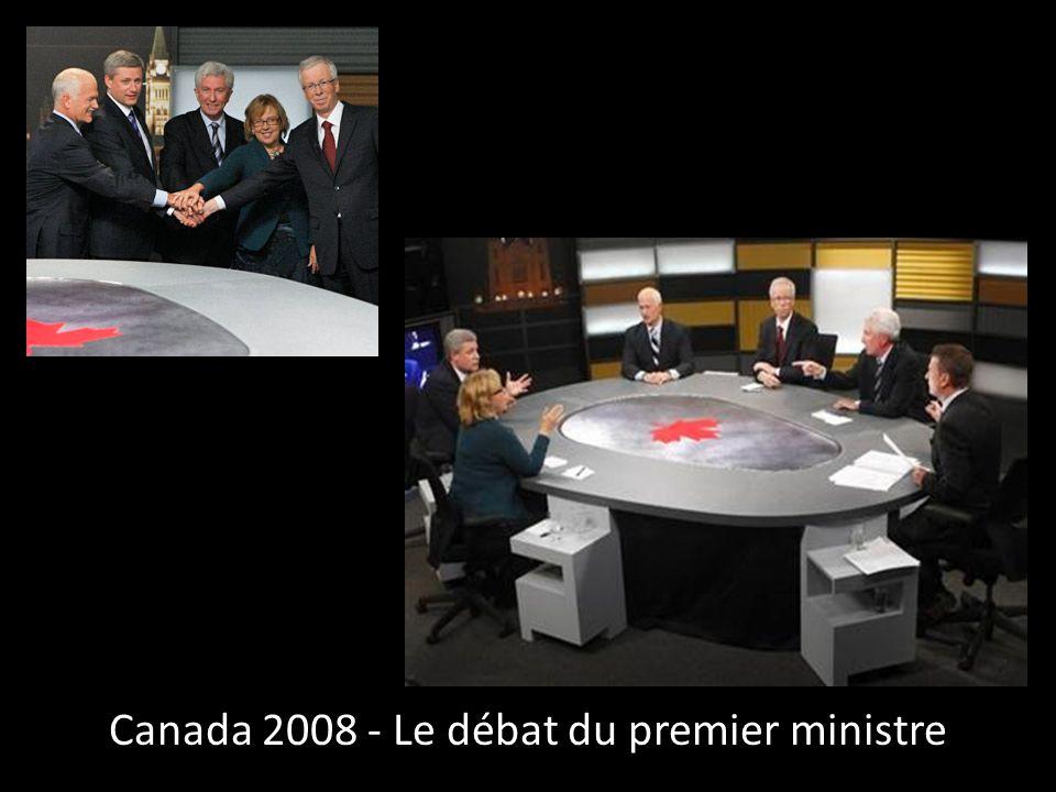 Canada 2008 - Le débat du premier ministre