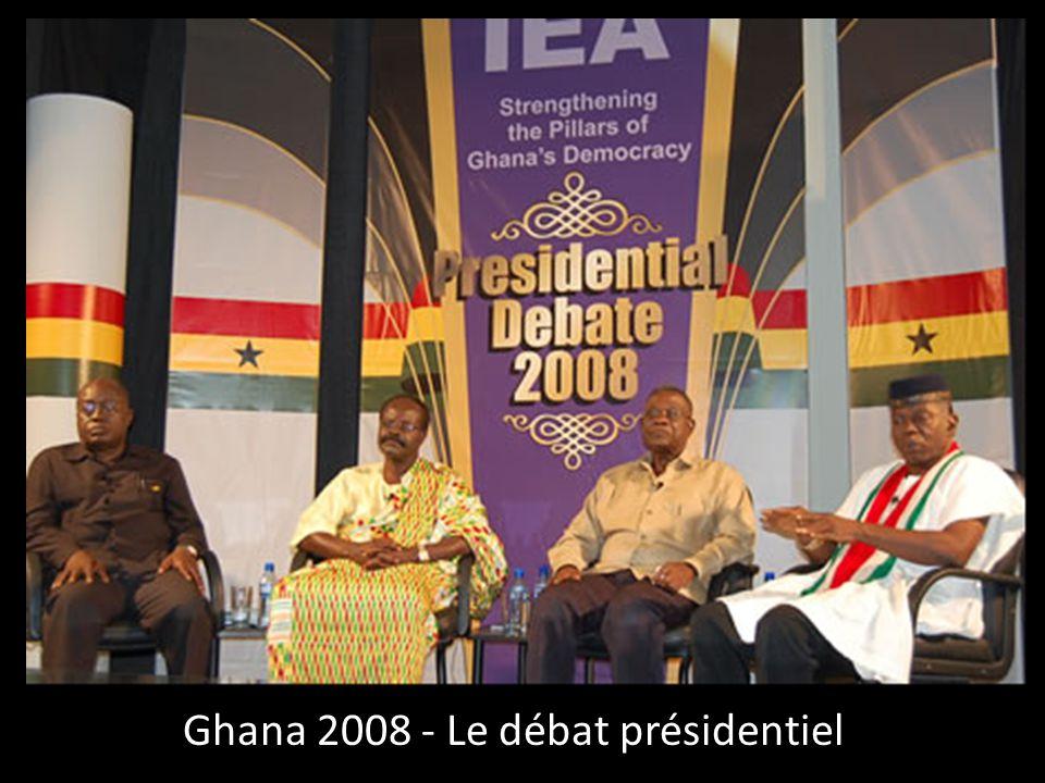 Ghana 2008 - Le débat présidentiel