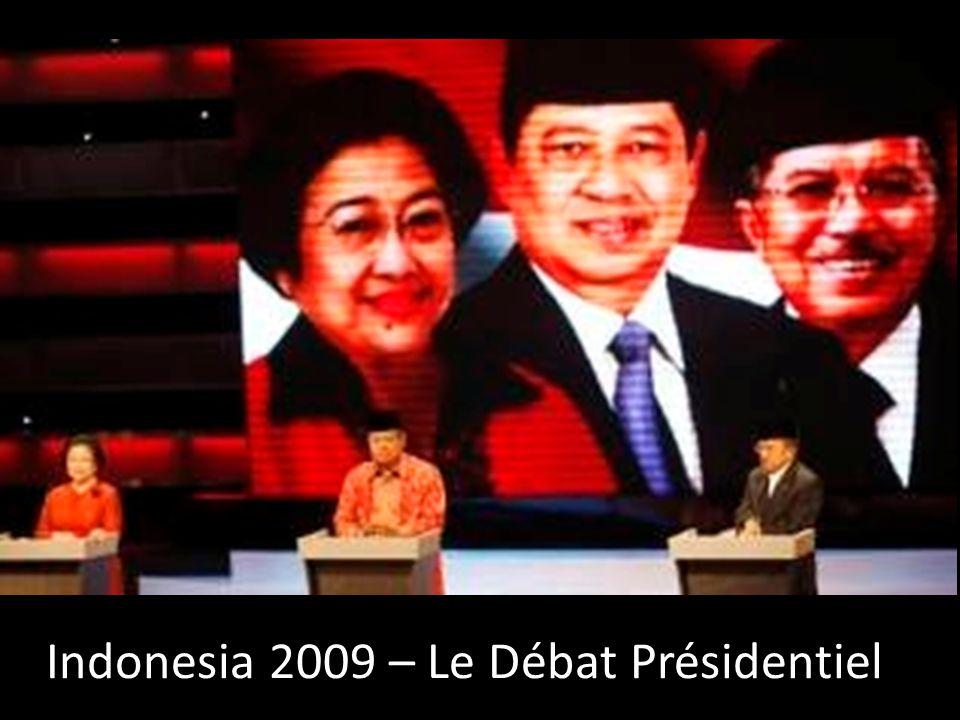 Indonesia 2009 – Le Débat Présidentiel