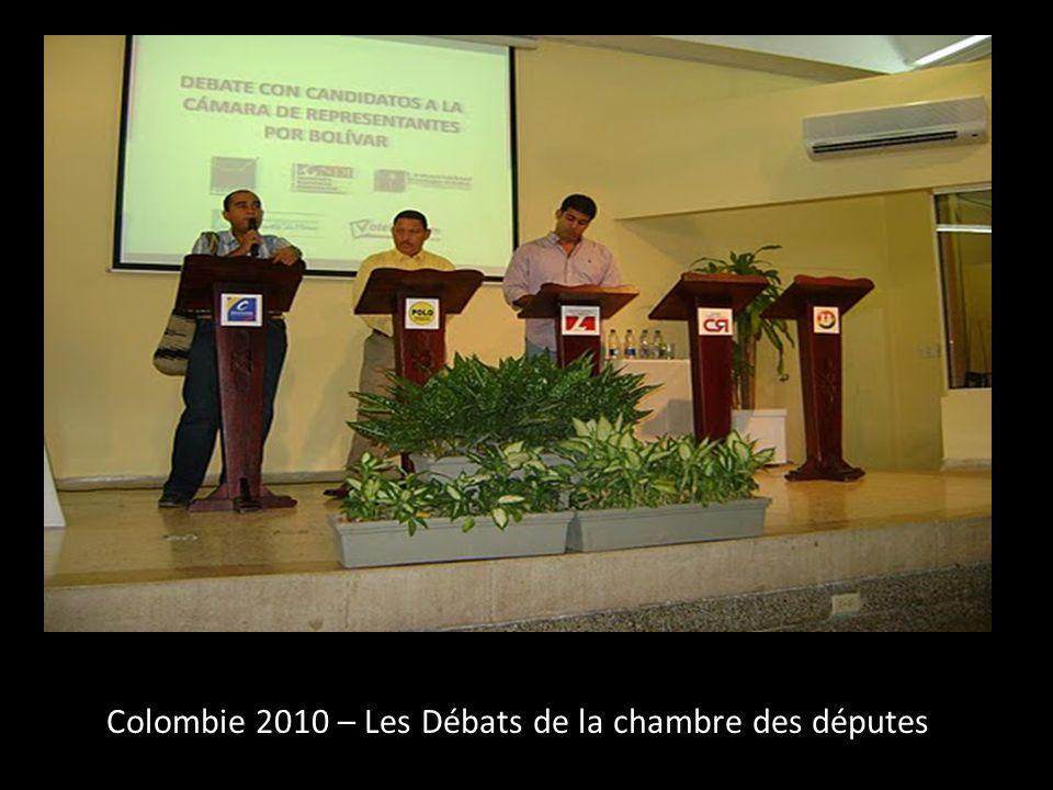 Colombie 2010 – Les Débats de la chambre des députes