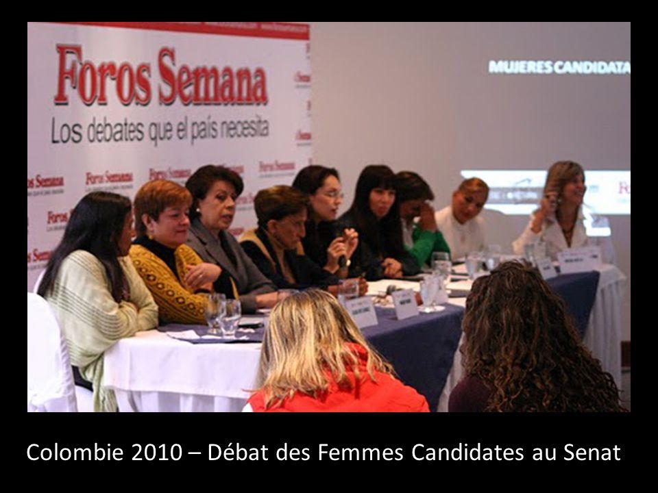 Colombie 2010 – Débat des Femmes Candidates au Senat