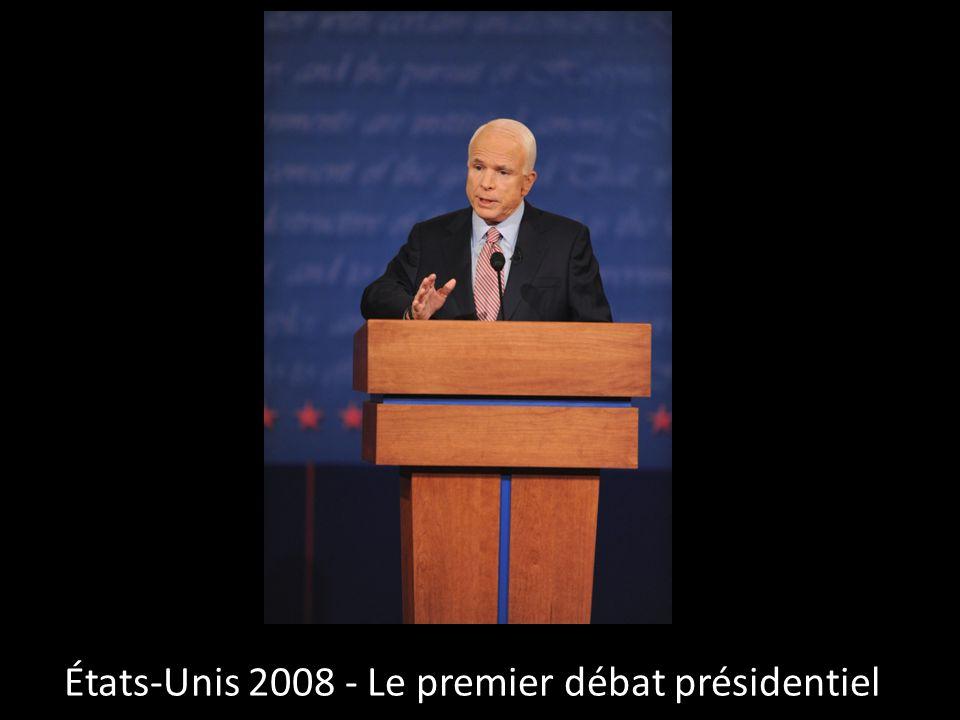 Etats-Unis 2008 - Le débat vice-présidentiel