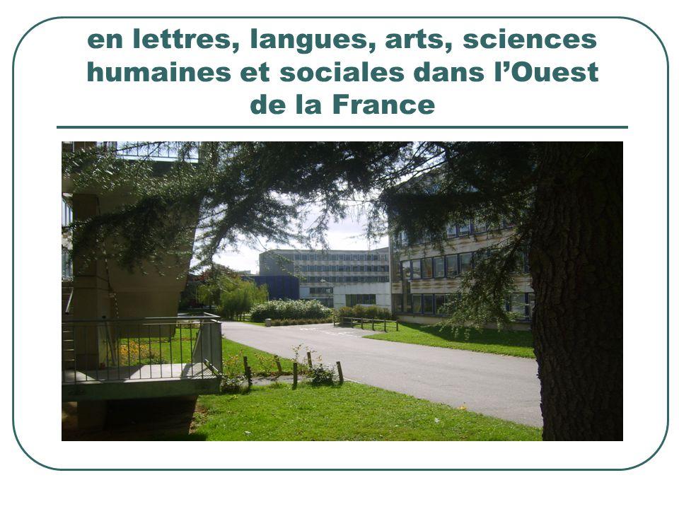 Une année universitaire à Rennes 2 comprend deux semestres