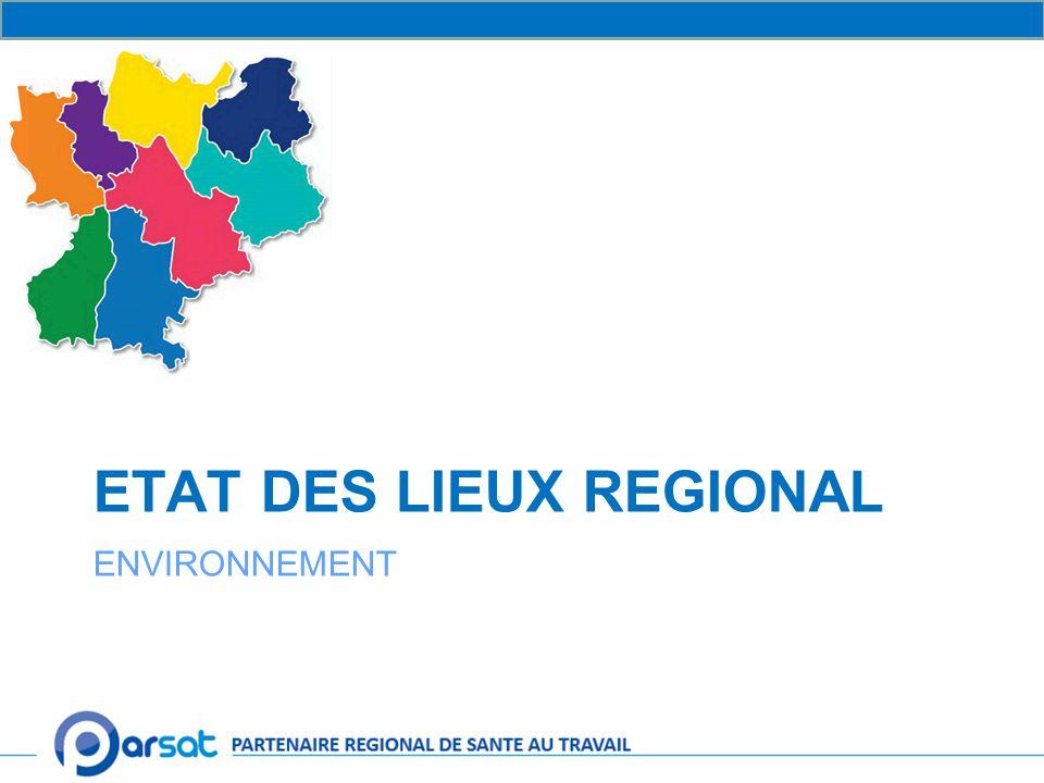 ETAT DES LIEUX REGIONAL ENVIRONNEMENT