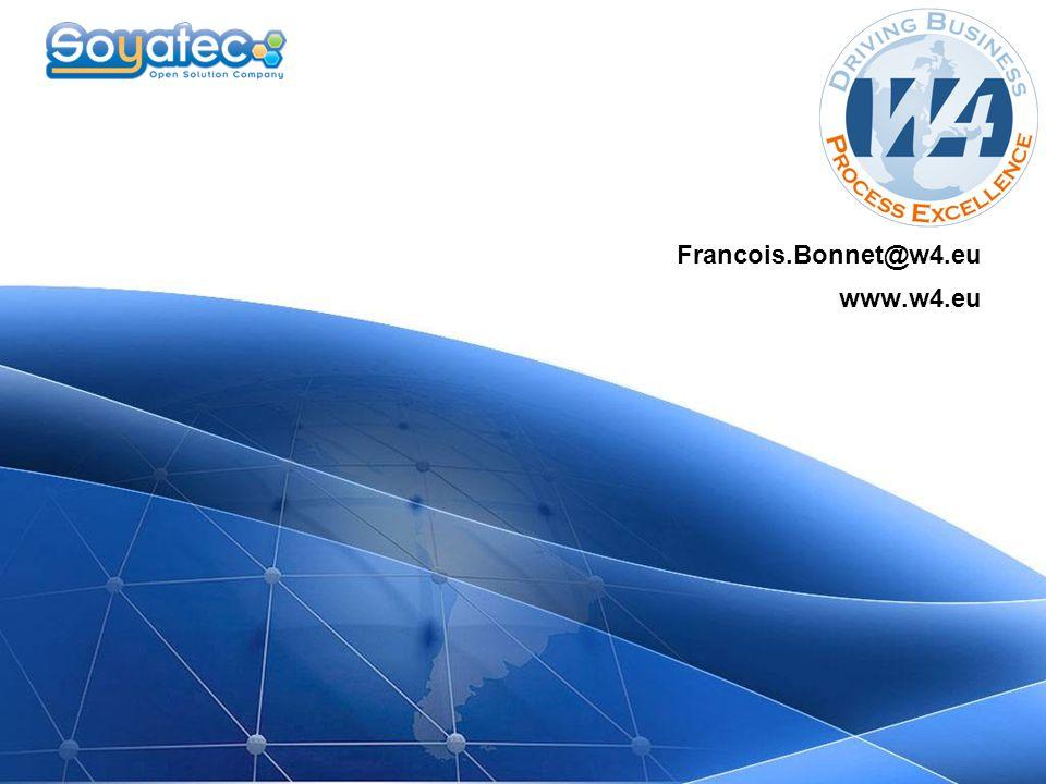 W4 Francois.Bonnet@w4.eu www.w4.eu