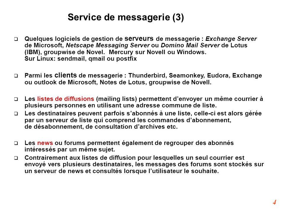 25 Exemple d'analyse POP3 (6)  Le client demande le retrait à l'aide de la commande RETR et reçoit une réponse avec le contenu du message.