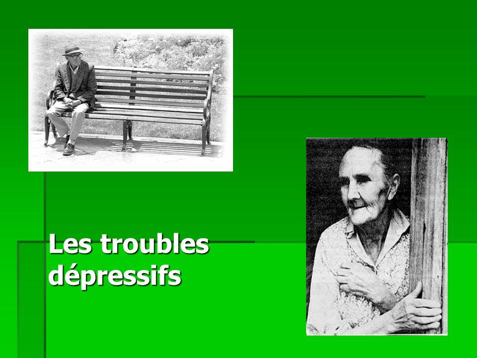 Les troubles dépressifs