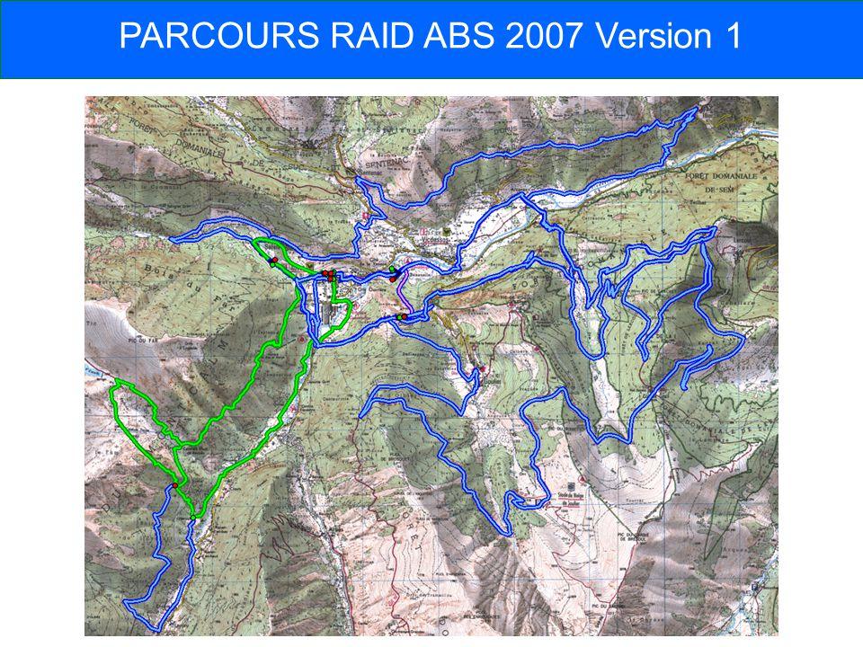 PARCOURS RAID ABS 2007 Version 1