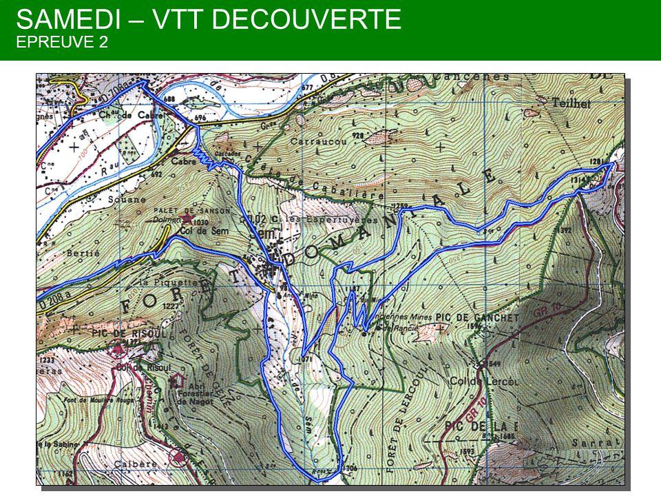 DIMANCHE – TRAIL INTENSE EPREUVE 1 En bleu Option possible pour rallonger + 4,5 Km