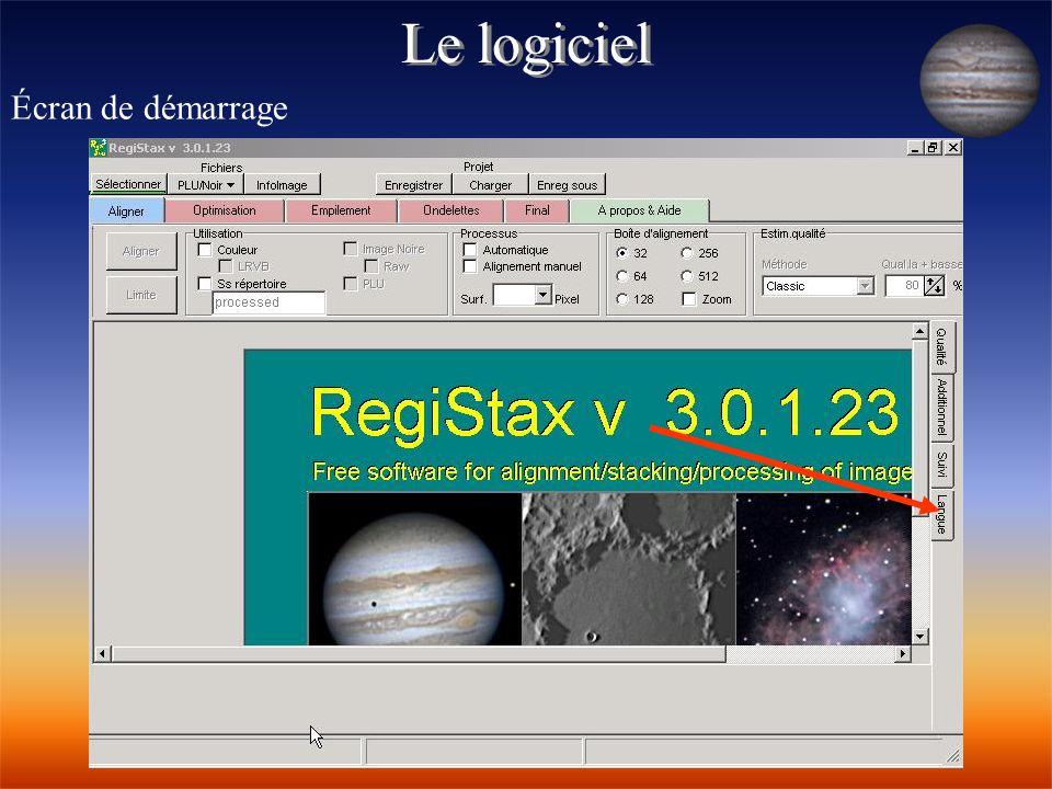 Additionner les Images Cliquez sur l'onglet « final » pour finaliser l'image ( lumière, teinte, saturation…) Puis cliquez sur « enreg » pour sauvegarder l'image obtenue
