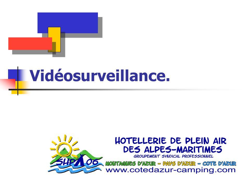 Vidéosurveillance.