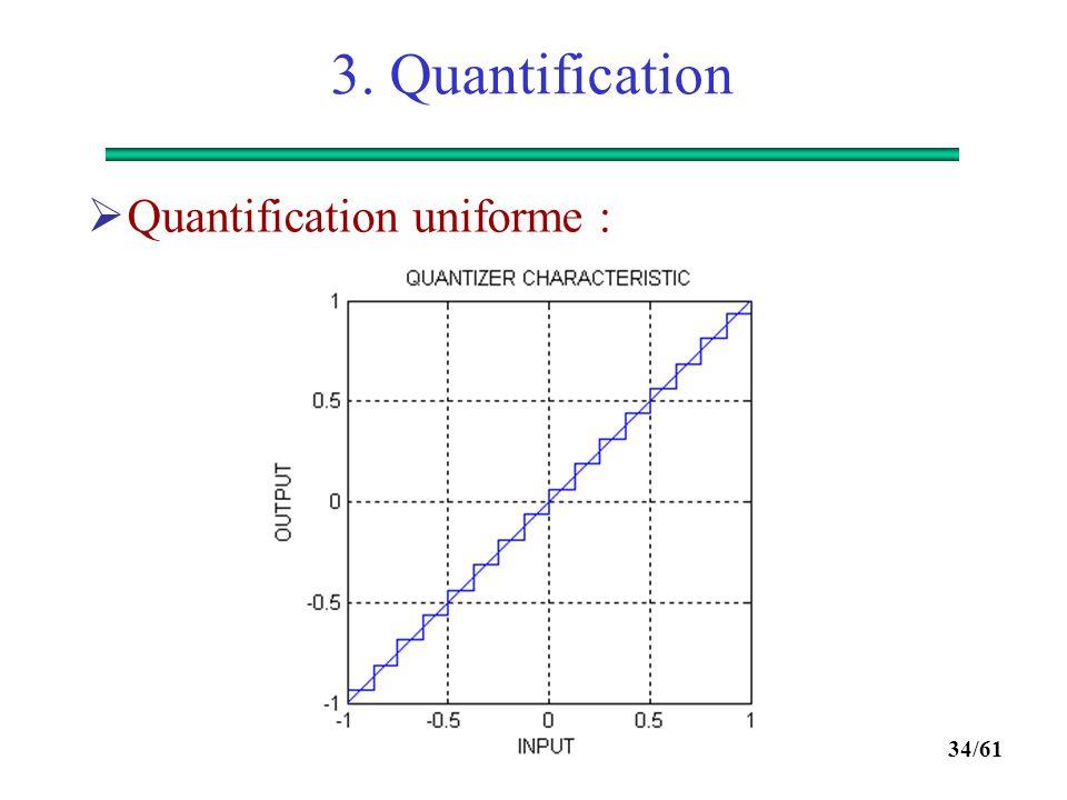 33/61 3. Quantification  Illustration :