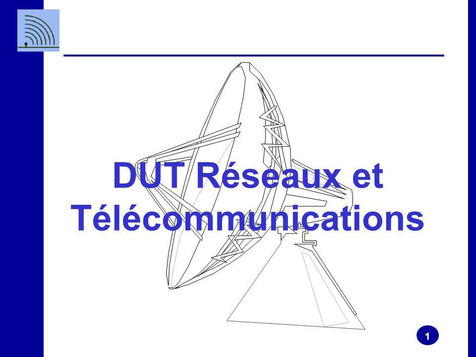 1 DUT Réseaux et Télécommunications