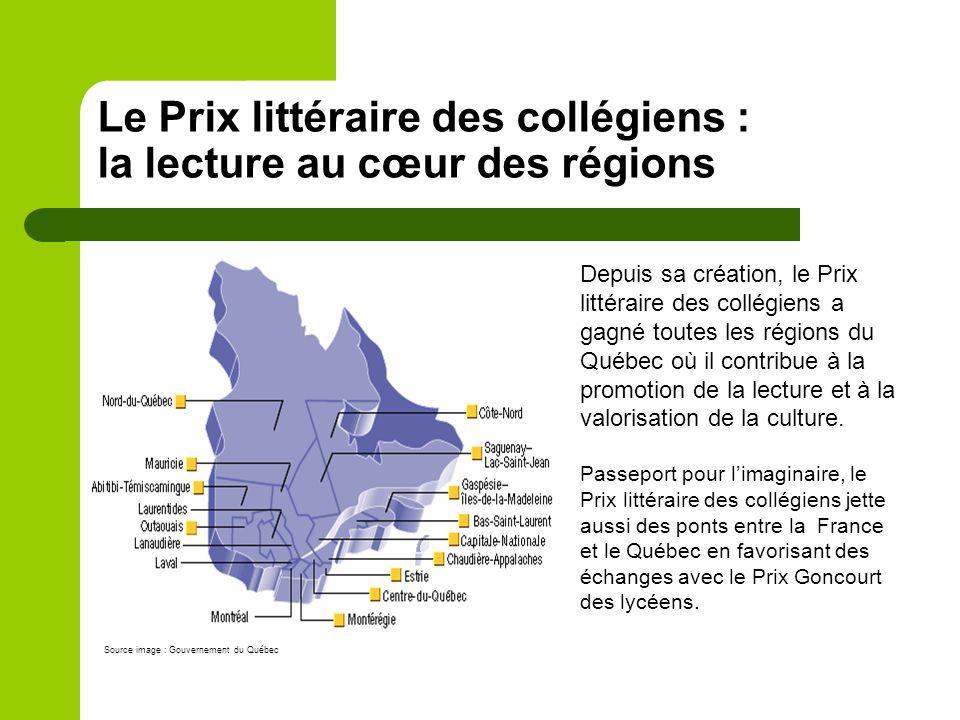 Le Prix littéraire des collégiens : la lecture au cœur du quotidien Novembre Novembre – Dévoilement des titres des cinq œuvres en lice dans la semaine précédant le Salon du livre de Montréal.